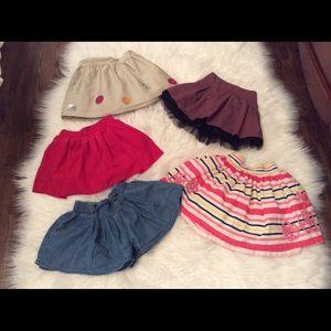 Other - 5 little girl skirts.